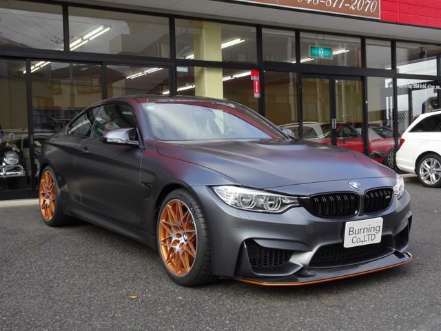 BMW M4クーペ GTS M DCTドライブロジック 左H