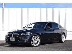 BMW523iラグジュアリー LEDライト Dメーター ACC