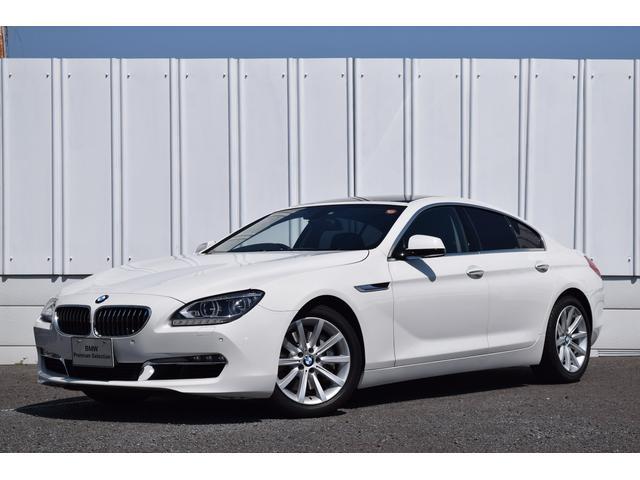 BMW 640iグランクーペ 認定中古車 SR 黒革 LEDライト