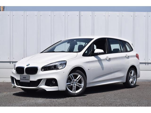 BMW 218iグランツアラー Mスポーツ  登録済未使用車 LED