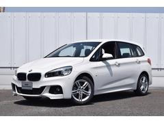 BMW218iグランツアラー Mスポーツ  登録済未使用車 LED