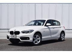 BMW118d スポーツ 登録済未使用車 衝突軽減ブレーキ ACC