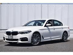 BMW530e Mスポーツiパフォーマンス 登録済未使用車 黒革