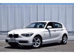 BMW116i スポーツ 純正ナビ キセノン SOSコール ETC
