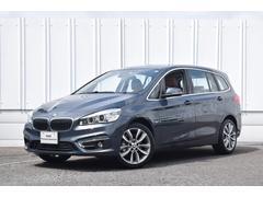 BMW218dグランツアラー 認定中古車 Dアシスト 茶革 Bカメ