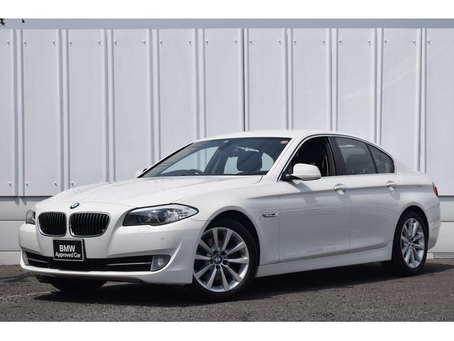 BMW 528i 黒革 地デジ クルコン ワンオーナ 認定中古車