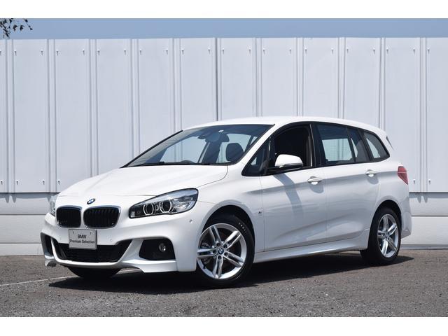 BMW 218iグランツアラーMスポーツACC HアップD 未使用車