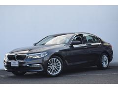 BMW523iラグジュアリー ヘッドアップD ACC 黒革 LED