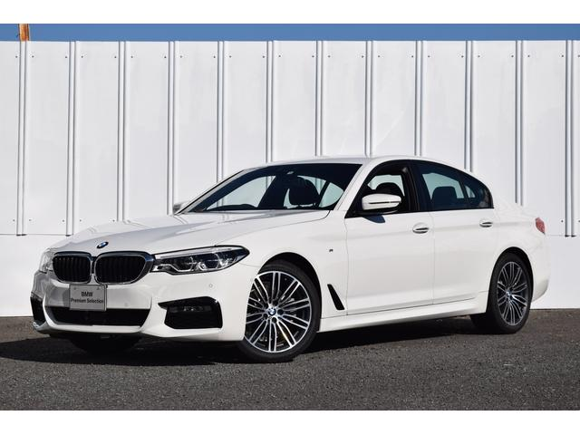 BMW 523i Mスポーツ 登録済未使用車 イノベーションPKG