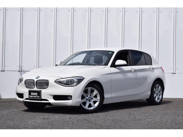 BMW 116i ワンオーナー 純正ナビ ホワイトグリル 認定中古車