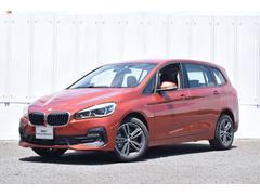 BMW218dグランツアラースポーツ ACC HアップD ハーフ革