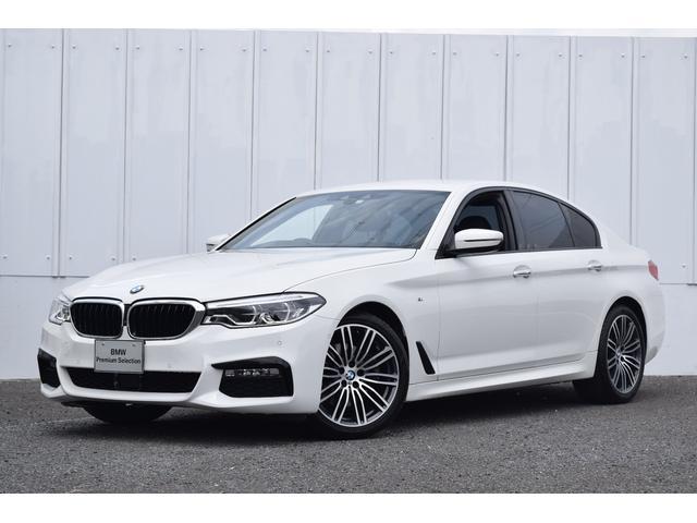 BMW 523dMスポーツ ハイラインPKG 1オナ 黒革 Dアシ+