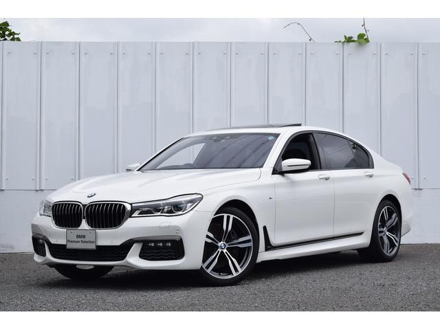 BMW 740i Mスポーツ 認定中古車 1オナ Dアシ ACC