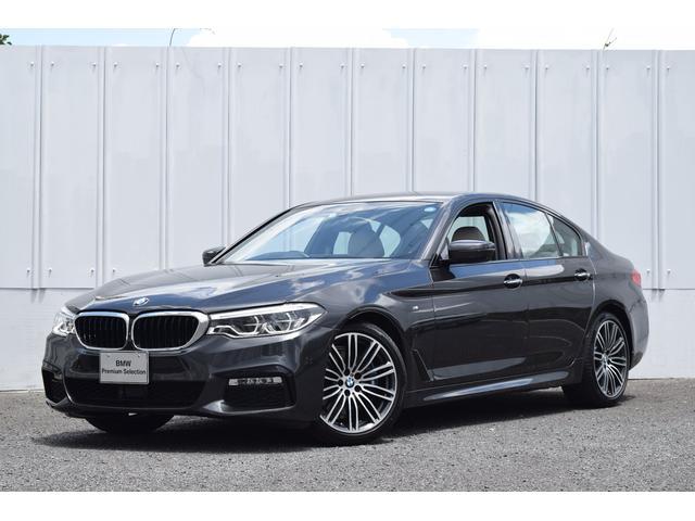 BMW 530i Mスポーツ 正規認定中古車 Dアシストプラス 白革