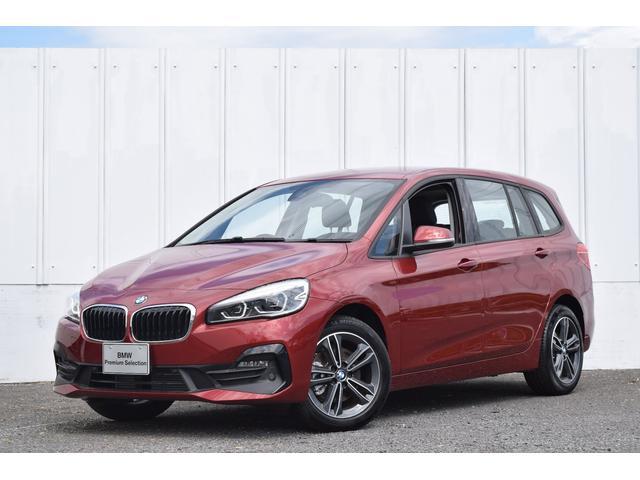 BMW 2シリーズ 218dグランツアラー スポーツ 正規認定中古車 衝突回避・被害軽減ブレーキ アクティブクルコン ヘッドアップディスプレイ パーキングアシスト バックカメラ 前後PDC 電動リアゲート 純正ナビ ミラーETC Bluetooth(音楽・TEL)