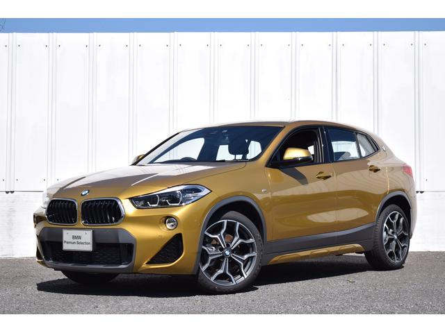 BMW X2 xDrive 18d MスポーツX 純HDDナビ Bluetooth音楽・tel 純19AW シートヒーター ミラーETC SOSコール LEDライト 電動リヤゲート ドライビングA アクティブクルーズC 前後障害物センサー リヤカメラ
