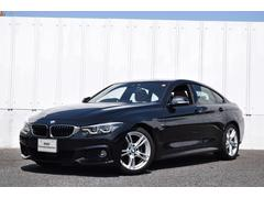 BMW420iグランクーペ Mスポーツ 茶革 Dアシ ACC