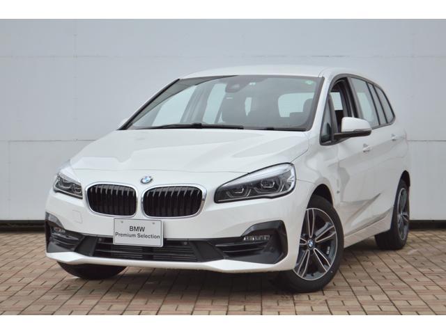 BMW 2シリーズ 218iグランツアラー スポーツ 正規認定中古車 HDDナビ CD 純17AW ドライビングアシスト アクティブクルーズコントロール 電動リヤゲート ヘッドアップディスプレイ シートヒーター 前後障害物センサー リヤカメラ SOSコール LEDライト