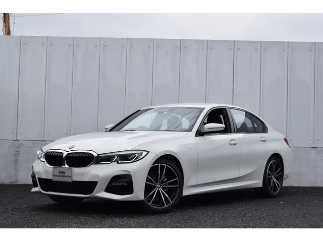 BMW 3シリーズ 320d xDrive Mスポーツ デビューPKG 正規認定中古車 19AW 黒革 コンフォートPKG ACC 衝突軽減ブレーキ 車線変更・逸脱警告 HDDナビ Bluetooth USB接続 ワイヤレス充電 前後障害物センサー SOS ETC