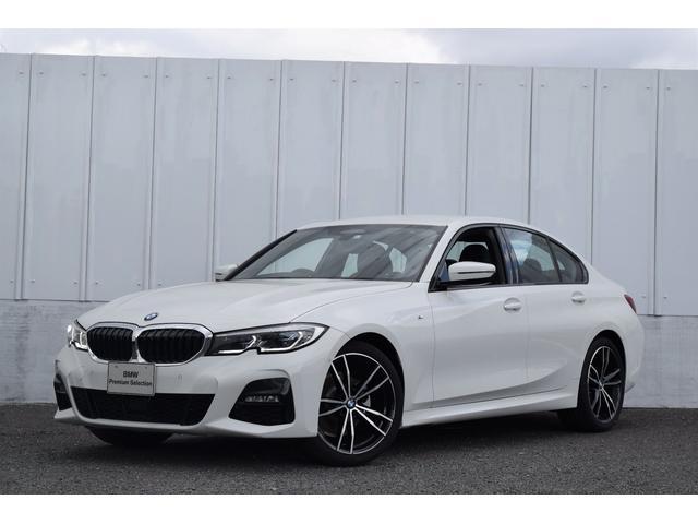 BMW 3シリーズ 320d xDrive Mスポーツ 正規認定中古車 デビューPKG イノベPKG コンフォPKG ナビ Bluetooth接続 19AW 黒レザー  アクティブクルーズ ヘッドアップD SOS ETC PDC Rカメラ