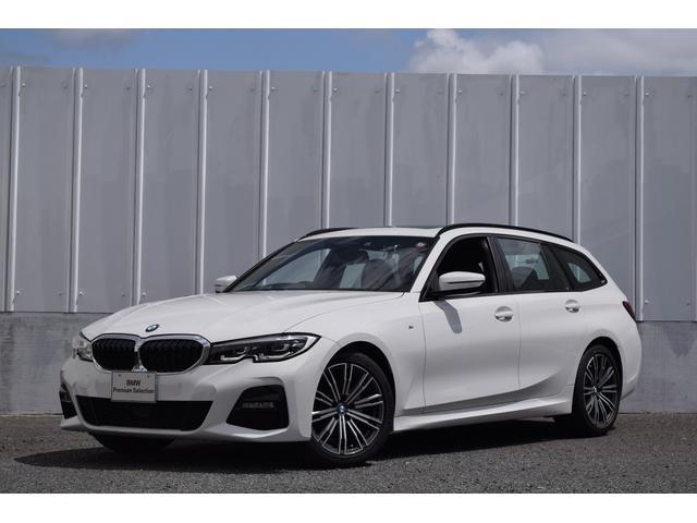 BMW 320d xDriveツーリング Mスポーツ 正規認定中古車 ナビ Bluetooth(音楽・tel) 18AW LED ETC 電動リヤゲート SOSコール パノラマサンルーフ ワイヤレス充電器 ドライビングA アクティブクルーズC レーンチェンジW