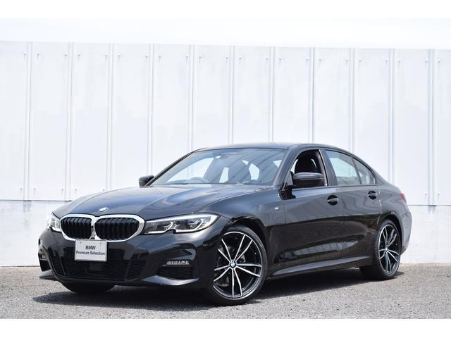 BMW 320i Mスポーツ 正規認定中古車 デビュー・コンフォート・イノベクションPKG ナビ  HiFiスピーカー 19AW 黒革 電動トランク レーザーライトLED ヘッドup ジェスチャーコントロール 前後PDC Rカメラ SOS