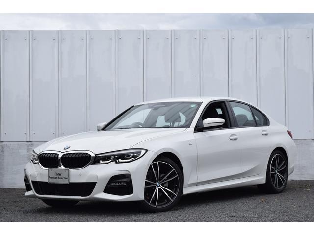 BMW 3シリーズ 320d xDrive Mスポーツ 正規認定中古車 元試乗車 ヒーター付黒革シート 19AW 電動トランク HiFiスピーカー ヘッドアップディスプレイ ナビ リアビューカメラ アクティブクルコン ドライブアシスト Bluetoosh接続 ETC