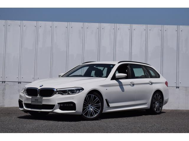 BMW 5シリーズ 523iツーリング Mスポーツ 正規認定中古車 元試乗車 Mスポーツ 純正HDDナビ アクティブクルコン ドライブアシスト リアビューカメラ 前後障害物センサー 電動リアゲート 地デジ 19インチAW Bluetooth SOSコール ETC2.0