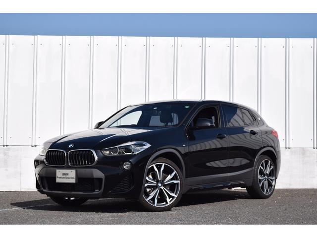 BMW X2 sDrive 18i MスポーツX 正規認定中古車 デビューパッケージ ACC ヘッドアップD 20インチ 電動シート シートヒーター 電Rゲート 衝突軽減ブレーキ 車線逸脱警告 Bluetooth USB LEDライト