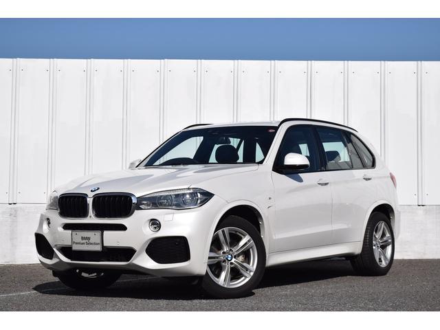 BMW X5 xDrive 35i Mスポーツ 正規認定中古車 セレクトパッケージ ACC サンルーフ 黒革 前後シートヒーター 電動Rゲート アダプティブLEDライト 総突軽減ブレーキ 車線逸脱警告 全周囲カメラ 地デジ 純ナビ USB ETC