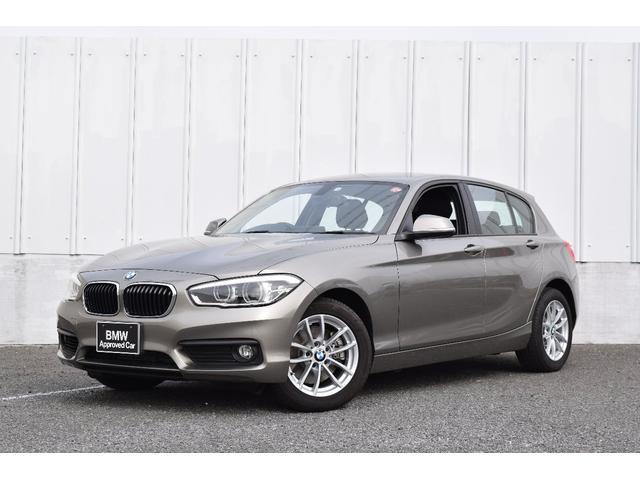 BMW 1シリーズ 118i 正規認定中古車 ワンオーナー 純正HDDナビ 社外地デジチューナー 社外リアビューカメラ LEDヘッドライト&フォグ ミラーETC 純正16インチAW レインセンサー Bluetooth接続 マルチFステアリング