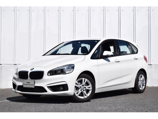 BMW 218dアクティブツアラー 正規認定中古車 ワンオーナー 純正HDDナビ リアビューカメラ リア障害物センサー LEDヘッドライト ドライバーアシスト マルチファンクションステアリング 純正16インチAW レインセンサー ETC2.0内臓ミラー