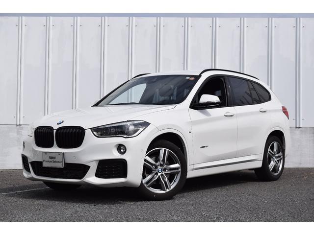 BMW X1 sDrive 18i Mスポーツ 認定中古車 純正HDDナビ ETC 衝突軽減ブレーキ 車線逸脱警告 前後障害物センサー バックカメラ Bluetooth USB接続 コンフォA 1オーナー ブラックグリル 18インチアルミ