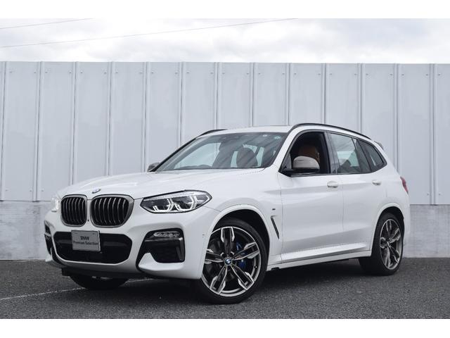 BMW M40d 純正HDDナビ ACC セレクトPKG パノラマSR 21インチ LEDライト 前後障害物センサー 衝突軽減ブレーキ 車線逸脱変更警告 SOSコール 茶革 全周囲カメラ ETC 前後シートヒーター