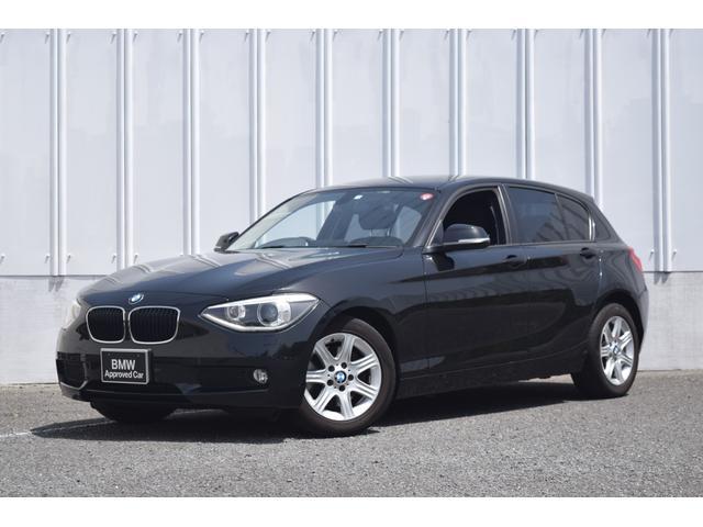 BMW 116i 正規認定中古車 認定中古車 純正HDDナビ キセノンヘッドライト ETC CD AUX接続 ミュージック・サーバー 社外フロント・ドライブレコーダー アルミ・ホイール