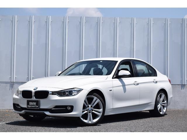 BMW 3シリーズ 320dブルーパフォーマンス スポーツ 黒レザー 純正ナビ ミラーETC 被害軽減ブレーキ シートヒーター 電動シート バックカメラ リヤ障害物センサー コンフォートアクセス キセノンヘッドライト ワンオーナー 禁煙車
