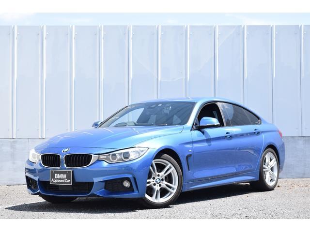 BMW 420iグランクーペ Mスポーツ 黒レザー 純正前後ドラレコ ACC 純正ナビ ミラーETC 被害軽減ブレーキ コンフォートアクセス シートヒーター 電動シート バックカメラ リヤ障害物センサー USB/Blutooth接続