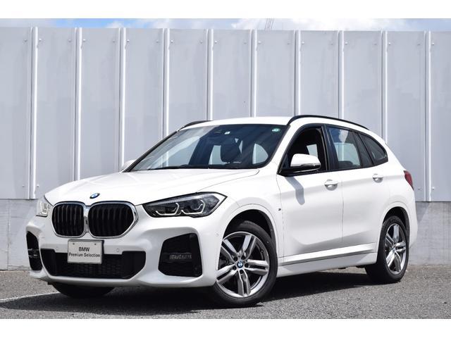 BMW X1 xDrive 18d Mスポーツ 正規認定中古車 元試乗車 アクティブクルーズ パドルシフト ナビ リアビューカメラ 前後障害物センサー 電動リアゲート ドライブアシスト Bluetooth接続 コンフォートアクセス SOSコール LED ETC