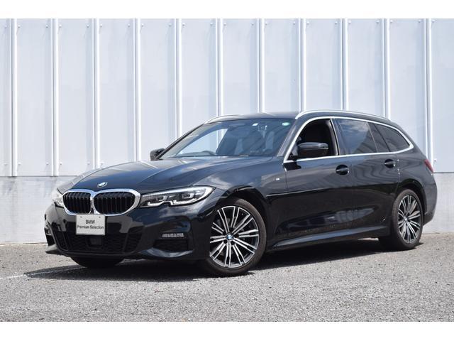 BMW 320d xDriveツーリング Mスポーツ コンフォートPKG パーキングアシストプラス 純正前後ドラレコ カーフィルム ルーフレール&サイドメッキ仕様 ハーフ革 ACC 純正ナビ 被害軽減ブレーキ 車線逸脱・変更警告 全方位カメラ 禁煙車