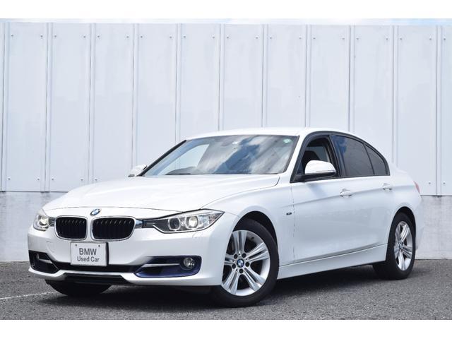 BMW 320i スポーツ 認定中古車 ワンオーナー 純正ナビ ミラーETC 電動シート バックカメラ リヤ障害物センサー キセノンヘッドライト 社外地デジ USB・Blutooth接続 マルチファンクション 純正17インチAW