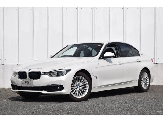 BMW 3シリーズ 330eラグジュアリーアイパフォーマンス 純HDDナビ Bluetooth(音楽・tel)CD 黒レザー ドライビングA アクティブクルーズCレーンチェンジW 前後障害物センサー リヤカメラ LEDライト SOSコール ミラー内蔵ETC
