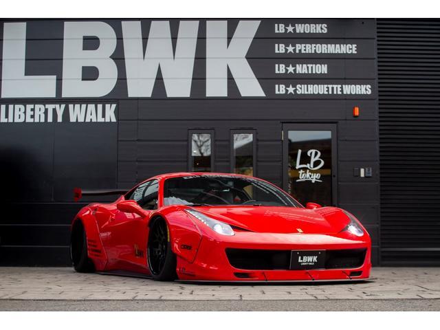 フェラーリ LB-WORKS 458 Full complete