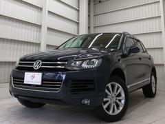 VW トゥアレグV6アップグレードパッケージ黒革ウッド調360カメ