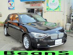 BMW116i スタイルキセノン ハーフレザー メモリナビ ETC