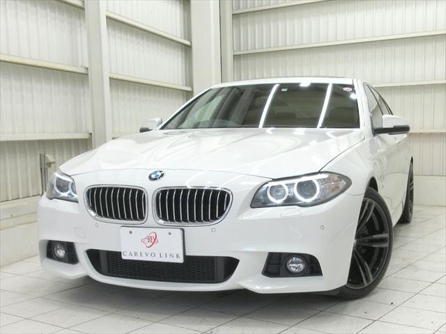 BMW 5シリーズ 523iMスポーツ2Lサンルーフパドル純19AWBカメ除菌済