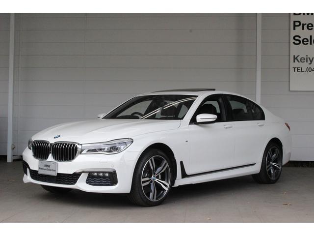 BMW 740i Mスポーツ サンルーフ LED HDDナビ Bカメ