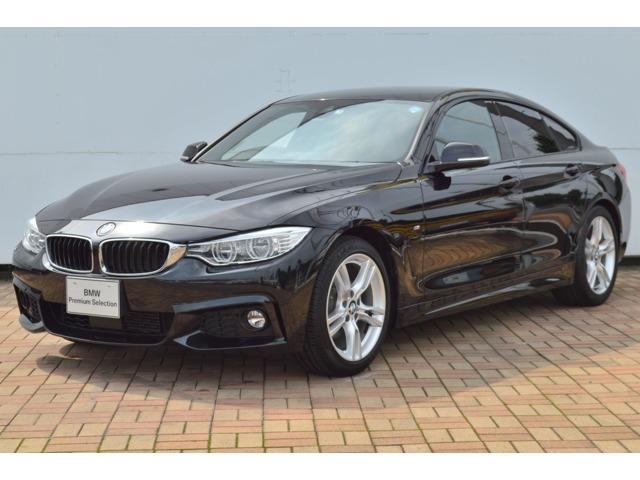 BMW 420iグランクーペ Mスポーツ 黒革 LED ACC