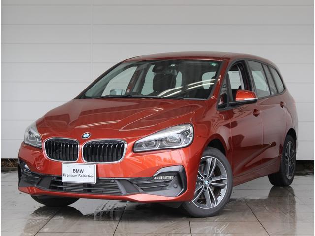 BMW 2シリーズ 218dグランツアラー スポーツ アドバンストアクティブセーフティ LEDヘッドライト リヤビューカメラ コンフォートアクセス アクティブクルーズコントロール LEDフォグ 障害物センサー ヘッドアップディスプレイ