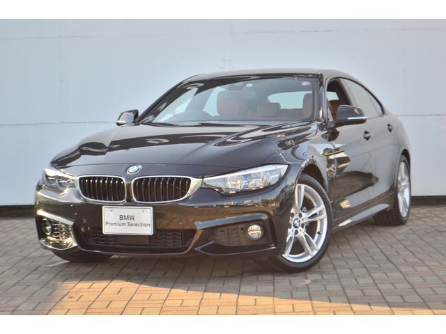 BMW 4シリーズ 420iグランクーペ Mスポーツ コニャックブラウンレザー地上デジタルTVファンクション Hifiスピーカー USBオーディオインターフェース ドライビングアシスト アクティブクルーズ シートヒーター アダプティブLEDヘッドライト