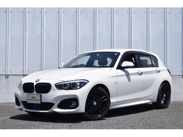 BMW 118i Mスポーツパッケージ 1000台限定EDITION SHADOW ブラウンレザー アクティブクルーズコントロール リヤビューカメラ コンフォートアクセス 障害物センサー 純正ナビ